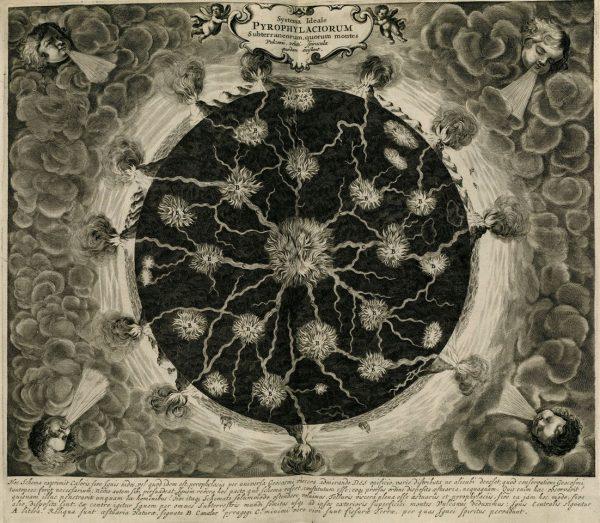 Athanasius Kircher, 'Mundus Subterraneus' (1665), illustration