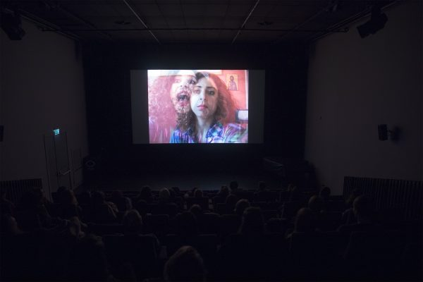 Mounira Al Solh, à la santé des alliés, film screening, EYE Filmmuseum, Amsterdam, 15 December 2017.