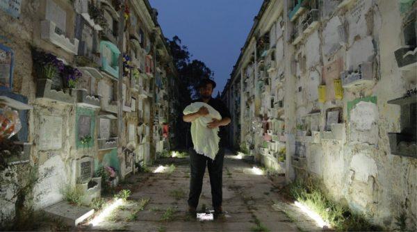 Naufus Ramírez-Figueroa, 'Life in His Mouth, Death Cradles Her Arm' (2016), videostill. Video: Amenotep Cordova, Jose Miguel Orozco, Robert Breske.