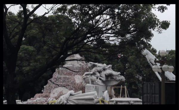 Alejandra Riera, .. '– OHPERA – MUET – ... [... – MUTE – OHPERA – ...]' (2017), videostill.
