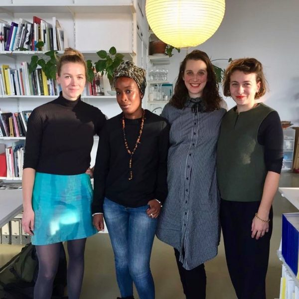 Left to right: Margriet Minnema, Desta Deekman, Tchelet Pearl and Giulia Damiani, 'Rituals of the Everyday' (2019), Radio Emma. Photo: Anik Fournier.