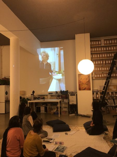 Sara Giannini, 'Evil Eye' (2020), screening and performance. Photo: Sara Giannini
