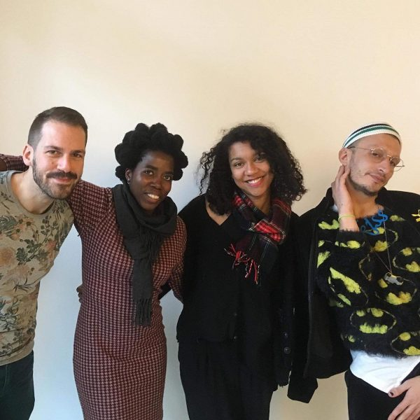 Left to right: Selçuk Balamir, Nagaré Willemsen, Tina Reden, Taka Taka, 'Gathering' (2018), Radio Emma. Photo: Susan Gibb.