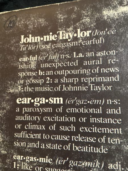Eargasm (1976) by Johnnie Taylor